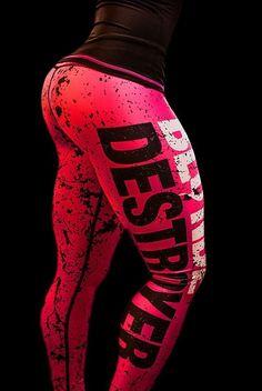 BLOND DESTROYER WOMEN S SPORT PANTS/LEGGINGS/TIGHTS/Fitness/Running SIZE M