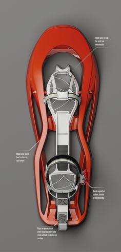 Snowshoes Concept Design on Behance