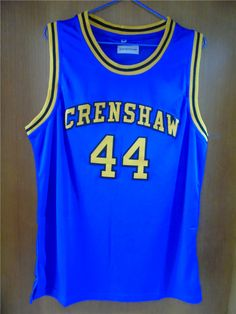7cab61b09 Aembotionen Kobe Bryant  44 Crenshaw High School Retro Throwback Stitched Basketball  Jersey Sewn Camisa Embroidery