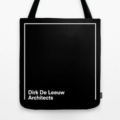 Dirk De Leeuw Architects by Coast Le Tote, Fab Bag, Custom Tote Bags, Bag Packaging, Best Bags, Fabric Bags, Green Bag, Cotton Bag, Cloth Bags