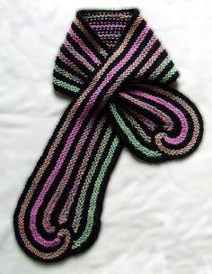 Crochet: Spitcurl Scarf Pattern. flickr.com