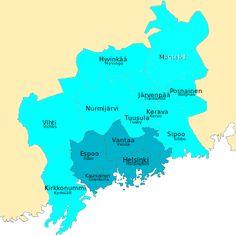 Pääkaupunkiseutu – Wikipedia