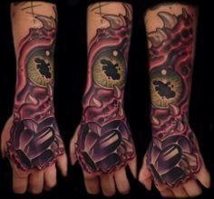 59efe122646 Tanane Whitfield. David Baker · New school illustrative tattoos