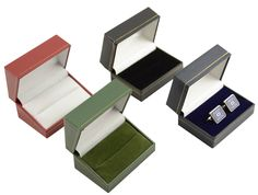 #Luxury faux leather cufflink box #jewellery #display storage gift box,  View more on the LINK: http://www.zeppy.io/product/gb/2/181743116898/