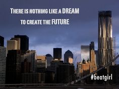 My #future is still there. I just need to find a way to make it #real. #BeatGirl #music #newyork #nyc #dream