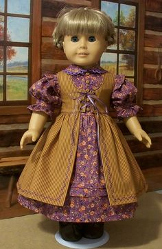 Praire dress and pinafore by Keepersdollyduds, via Flickr