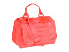Marc by Marc Jacobs M Standard Supply Small Messenger Fluoro Coral - Zappos.com Free Shipping BOTH Ways