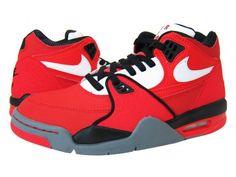 Nike Air Flight 89 Red Black White