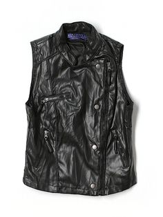 Check it out—Miley Cyrus & Max Azria Faux Leather Jacket for $5.99 at thredUP!