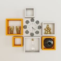 So, scroll down to see 15 gracious wall racks that you will love!!!