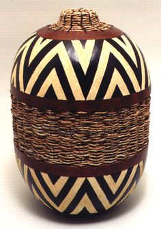 Gourd Art by Don Weeke