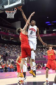 Men's Gold Medal Game: USA 107, Spain 100 - Basketball Slideshows | NBC Olympics