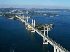 Hangzhou Bay Bridge. Se encuentra en Zhejiang, en China.