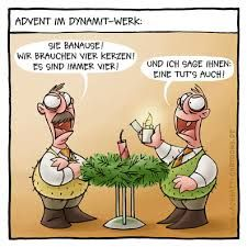 4. Advent Sprüche Lustig