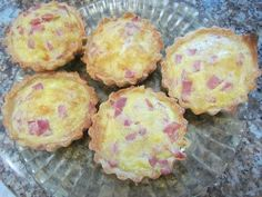 Quiches, Tasty Videos, Ale, Food And Drink, Healthy Recipes, Breakfast, Youtube, Ham And Cheese Quiche, Ham Pizza
