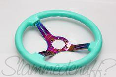 Slammedenuff — Grip Royal Mint(Tiffany)/Neo Chrome Wheel (SE? edition)