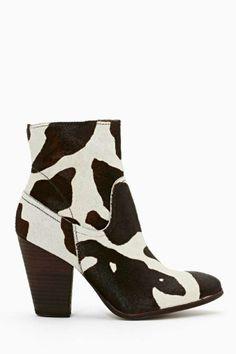 Matisse Keegan Pony Hair Boot