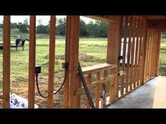 Frame for hempcrete showing Electrical Installation - YouTube