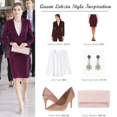 Queen Letizia's style for less