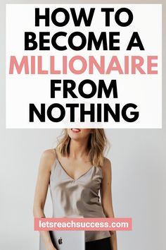 Want to become a self-made millionaire in the next few years? Check out this guide on how to start from nothing and make your first million dollars: Make Money Now, Make Money Fast, How To Raise Money, Make Money From Home, Make Money Online, Self Made Millionaire, Become A Millionaire, One Million Dollars, One In A Million