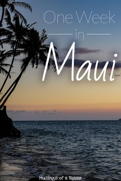 Really helpful Maui tips! There's so much to see & do in Maui: snorkeling, beaches, waterfalls. But where to start? Here's a Maui itinerary packed with everything you need to see. Beach Vacation Tips, Honeymoon Vacations, Hawaii Honeymoon, Hawaii Vacation, Maui Hawaii, Beach Trip, Vacation Destinations, Dream Vacations, Vacation Spots