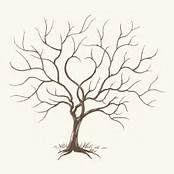 Free Template Fingerprint Tree of Love