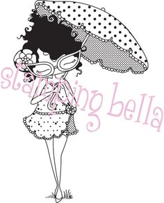 Show details for Stamping Bella Unmounted Rubber Stamp