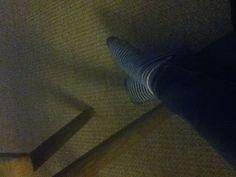 Streepjes sokken!