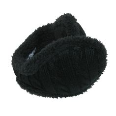 Shop Women's Cable Knit Ear Warmers - Black - Find the newest styles of Women's Earmuffs with Affordable Prices. Knitted Gloves, Women's Earmuffs, Large Scarf, Dress Gloves, Pashmina Scarf, Paisley Design, Ear Warmers, Ladies Party