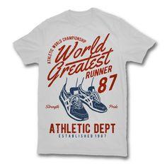 94594dcf6322f3 World Greatest Runner Graphic design