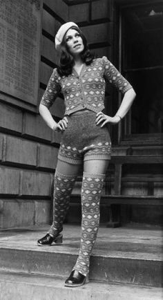 Hot Pants - 1972. I wore a pair under my graduation robes in 1971!