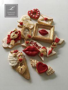 Lorena Rodríguez. Valentine's cookies By LORENA RODRIGUEZ