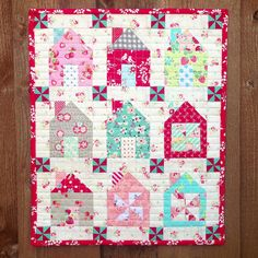 Thimble Blossoms Dwell Mini by Three Owls, via Flickr