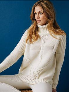 Anchor Ottoman Shoulder Sweater                       |             525 America