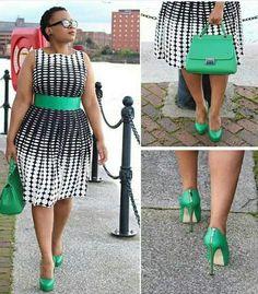 Stylish Plus-Size Fashion Ideas – Designer Fashion Tips Curvy Girl Fashion, Look Fashion, Plus Size Fashion, Womens Fashion, Trendy Fashion, Plus Size Dresses, Plus Size Outfits, Xl Mode, Modelos Plus Size