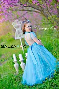 "#Girl #Dress #Salzarra – ""ARIEL IS DANCING IN THE CLOUDS"""
