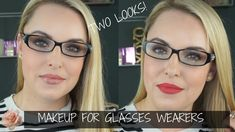 Makeup for glasses wearers is such a fun topic. You can do so much with your makeup with many different types of glasses. I think glasses are an accessory th. Eyeshadow Looks, Eyeshadow Palette, Makeup For Brown Eyed Girls, Different Types Of Glasses, Arch Brows, Love Connection, Smudger, Beauty Tutorials, Lip Liner