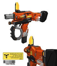 ArtStation - Weapon design X 5, ACE Zheng