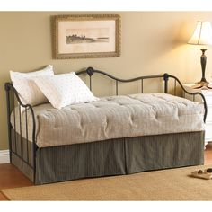 nice Metal Daybed With Trundle