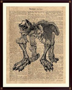 Megatherium Skeleton Print, Anatomical Print, Animal Wall Art, Animal Anatomy, Skeleton Print, Animal Skeleton, Animal Art Dinosaur Prints, Animal Skeletons, Animal Anatomy, Old Maps, Pigment Ink, Moose Art, Quilts, Wall Art, Antiques