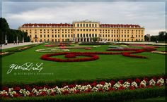 Schonbrunn Palace - Vienna.  A must see when traveling to Austria. This place is so beautiful.