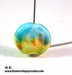 Handmade Polymer Clay Beads, Polymer Clay Beads for Sale, Jewelry Making Supplies, Focal Beads