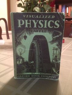 1940 Visualized Physics: Heavily Illustrated Vintage Science Textbook (Math)