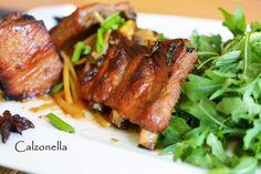 Żeberka wieprzowe według Gordona Ramsay'a | Calzonella Gordon Ramsey, Main Meals, Steak, Pork, Lunch, Kale Stir Fry, Pigs, Eat Lunch, Gordon Ramsay