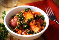 Winter vegetable stew. Moroccan-style.