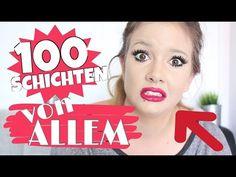 100 SCHICHTEN VON ALLEM !!! | INGA AVENUE - YouTube
