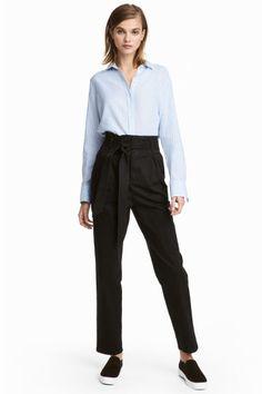 Pantalon - Noir - FEMME | H&M FR