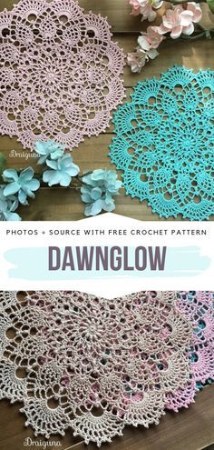 Stunning Crochet Doilies Free Patterns - - Today's collection of Stunning Crochet Doilies is a celebration of true craftsmanship in crochet. These works of art are complex and intricate, and you. Crochet Thread Patterns, Free Crochet Doily Patterns, Crochet Diagram, Crochet Doilies, Lace Doilies, Crochet Fairy, Diy Crochet, Crochet Crafts, Crochet Projects