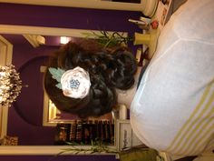 #hair #braids #flowers -- WHAT DOESN'T THIS PICTURE HAVE? and what can't Theresa do?