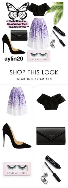 """""""#skirt"""" by aylin20 ❤ liked on Polyvore featuring Chicwish, Rachel Comey, Christian Louboutin, Balenciaga, Boohoo and Bobbi Brown Cosmetics"""